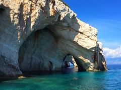 Blue caves / Сините пещери (mitko_denev) Tags: ζάκυνθοσ ιονίων νήσων ελλάδα greece ionianislands island zakynthos griechenland гърция йонийскиострови закинтос zante занте sea mediterranean йонийскоморе средиземноморие see meer magic landscape seascape пейзаж theflowerofthelevant пещера cave
