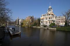 Amsterdam2014_159 (schulzharri) Tags: amsterdam holland niederlande netherlands europ europe flus river water building house haus sun sonne sky himmel blau blue