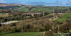 60010 | Chapel Milton Viaduct | 25th March '19 (Frank Richards Photography) Tags: 60010 class 60 class60 db red chapel milton viaduct chinley north south junction dove holes derbyshire buxton en le frith spring freight tug stone tunstead northwich march 2019 25th sun diesel brush traction lostock works 6f05 high peak