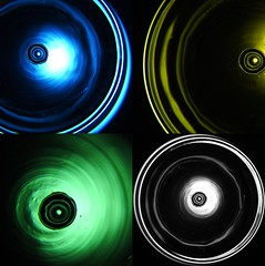 Glass, light, colour, macro (Gazman_AU) Tags: glass light led colour macro collage abstract