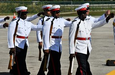 RCIPS Guard of Honour (Cayman Islands Government Information Services) Tags: cayman royal visit charles prince wales camilla duchess cornwall owen roberts international airport united kingdom great britain