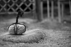20181201 Shirotori 9 (BONGURI) Tags: 名古屋市 愛知県 日本 jp bw monochrome blackandwhite 白黒 モノクロ モノクローム keepout stone rope cord grass lawn 立入禁止 止め石 石 縄 芝 芝草 nature glass 緑 自然 草 shirotorigarden japanesegarden garden shirotori 白鳥庭園 白鳥 庭園 日本庭園 atsutaward atsuta 熱田 熱田区 nagoya 名古屋 aichi 愛知 nikon d850 cosina cosinavoigtländernokton58mmf14sl2n