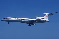 Aeroflot TU-154M RA-85771 BCN 19/07/1998 (jordi757) Tags: airplanes avions nikon f90x kodachrome kodachrome64 bcn lebl barcelona elprat tupolev tu154 aeroflot ra85771