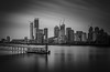 Drag Race at the Wharf... Explored #15, 9th Mar 2019 (Aleem Yousaf) Tags: cityscape london rotherhithe buildings modern architecture nikon d810 nikkor 2470mm long exposure morning clouds drag race pier canary wharf construction luminous mask light shadows highlights reflections muted sky monochrome black white timeoutlondon flickr camera digital citi hsbc credit suisse state street photography photo walk bike ride skyline skyscraper river thames thamespath cranes calm lee big stopper neutral density novotel hotel financial institutions water vignette