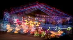 PC204094 (Copy) (pandjt) Tags: orléans ottawa ontario nightphotography winterphotography ledlights christmaslights intentionalcameramovement icm abstract lightpattern dusserrestreet