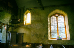 St Mary (Interior) (nigdawphotography) Tags: stmary church interior mundon essex window flowers pews