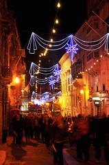 New Year's Eve in Valletta (DameBoudicca) Tags: malta malte マルタ valletta lavaleta lavalette lavalletta バレッタ streetshot streetphotography night natt nacht notte nuit noche 夜 street crowd celebrating celebrations newyear nyår neujahr añonuevo jourdelan capodanno 新年