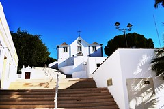 Castro Marim (Richard et Audrey) Tags: algarve portugal castromarim église placecentrale soleil sun church
