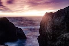 Cliff Walk (zainalirauf) Tags: canon 40d 24105l 24105 l i slik tripod newport cliffwalk long exposure landscape rhode island sunset