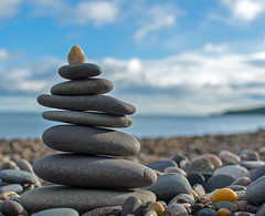 52 Weeks of 2019 Week No. 2: Prime Time Category: Technical (egitaf) Tags: sea stones stack wicklow ireland prime close up coast beach clouds sunny