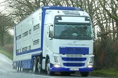 Volvo FH Livestock Transporter (SR Photos Torksey) Tags: transport truck haulage hgv lorry lgv logistics road commercial vehicle freight traffic volvo fh livestock