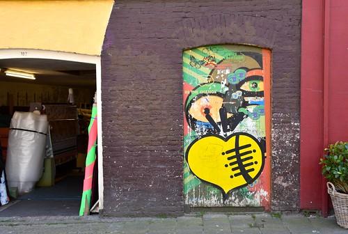Yellow Heart - Elandsgracht Amsterdam