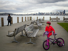 Alki Beach (Sergiy Matusevych) Tags: alki beach west seattle wa washington elizabeth kids family bike bicycle puget sound
