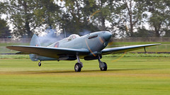 Spitfire (Bernie Condon) Tags: goodwood goodwoodrevival vintage preserved british uk greatbritain sussex vickers supermarine spitfire warplane fighter raf royalairforce fightercommand ww2 battleofbritian military aircraft plane flying aviation