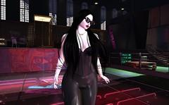 Disco Lady Loves To Bite (beccaprender) Tags: disco vampire purplepetals catwa catya bento maitreya lara cureless suicidalunborn sintiklia maii