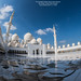The beautiful Sheikh Zayed Grand Mosque