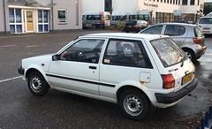 1987 Toyota Starlet 1.3 DX Automatic (rvandermaar) Tags: 1987 toyota starlet 13 dx automatic toyotastarlet ep70 p70 p7 sidecode4 rs27kf