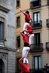 We build on trust/ Nos basamos en la confianza (PURIFM) Tags: barcelona humancastles people amazing outside castellers catalunya catalonia incredible popular party volks tradicional national