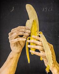 Peeling (Thomas Hawk) Tags: america johnwilde mia minneapolis minneapolisinstituteofart minneapolisinstituteofarts minnesota museum peeling usa unitedstates unitedstatesofamerica banana fruit painting us