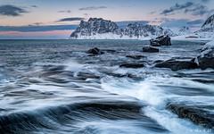 One Of A Kind (Wim Air) Tags: wave utakleiv lofoten snow sea structures stone seasine seaside beach wimairat