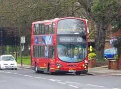 GAL WVL294 - LX59CZM - ELTHAM ROAD - SAT 16TH FEB 2019 (Bexleybus) Tags: goahead go ahead london eltham road se9 south east tfl route 321 wrightbus gemini volvo b9 wvl294 lx59czm
