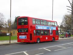 GAL WVL279 - LX59CYU - OSR - ELTHAM ROAD - SAT 16TH FEB 2019 (Bexleybus) Tags: goahead go ahead london eltham road se9 south east tfl route 321 wrightbus gemini volvo b9 wvl279 lx59cyu