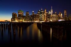 New York 2019 IMG_7086.CR2 (Daniel Hischer) Tags: architecture bluehour brooklyn brooklynbridgepark city downtown dusk manhattan newyork newyorkcity nyc skylineskyscraper skyscraper sunset usa