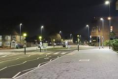 Night Shoot ,55 (doojohn701) Tags: junction buildings streetlighting yellow road sky night dusk vegetation houses building pavement bexleyheath uk