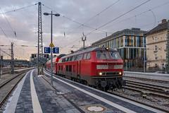 218 401-8 DB Regio München Hbf 31.01.19 (Paul David Smith (Widnes Road)) Tags: 2184018 db regio münchen hbf 310119 br218 218