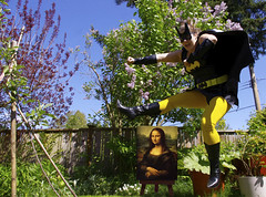 Art Jump (ruthlesscrab) Tags: art jump mona garden wah werehere hereios jumpingbrain