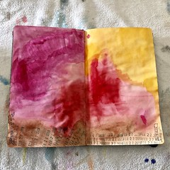 true. (shanta.devi) Tags: artastherapy abstract artjournaling artjournaleveryday liquitex acrylic watercolor paint colorful artisfreedom artismypath blackartist moleskine sketchbook journal artjournal art