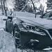 Mazda in Snow