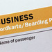 Business Bordkarte