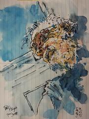 Pat Hayes pour JKPP (dege.guerin) Tags: portrait jkpp juliakaysportraitparty sketch