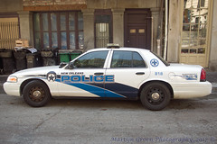 New Orleans Police (Martijn Groen) Tags: neworleans louisiana unitedstates usa november 2017 police policecar lawenforcement emergency ford fordpoliceinterceptor fordcrownvictoria crownvictoria policeinterceptor