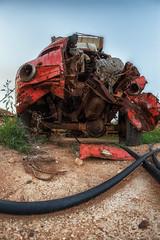 Carsharing (Rainer Schund) Tags: carsharing abandoned decay car grave decayed cyprus zypern smile motorweg urban exploring urbanexploring urbanarte verlassen verfall