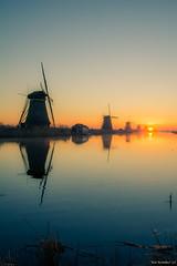 Kinderdijk (Bas Broeders) Tags: zonsopkomst kinderdijk sunrise windmills windmill unesco heritage worldheritage hdr