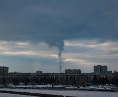 hd_20190320171500 (anatoly_l) Tags: russia siberia kemerovo city spring march 2019 sky clouds smoke