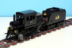Camelback Steam Locomotive
