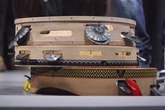 Frame Drums 11: Tamburello (of Massimiliano Passante) (KM's Live Music shots) Tags: musicalinstrument hornbostelsachs membranophone tamburello framedrum handpercussion drums italy amaraterra soas