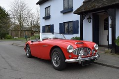 1960 Austin Healey 3000 (davidvines1) Tags: sports car austinhealey classic red