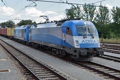 """2016 904 & 1216 922 """"Vanja"""" (Csundi) Tags: railroad taurus es64u4 adriatransport"""