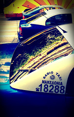 Thessaloniki (denismartin) Tags: denismartin lomo lomography thessaloniki θεσσαλονίκη salonica greece macedonia taxi transportation street streetphotography