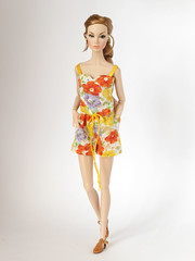 Spring gardens (*SquishTish*) Tags: doll clothes fashion style outfit miniature 16 squishtish spring summer color