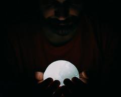 heart in hand (theoswald) Tags: self shadows selfportrait d3300 people nikon darkness moody portrait 35mm beard light