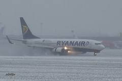 A56A8451@L6 (Logan-26) Tags: boeing 7378as eiexf msn 40322 ryanair riga international rix evra latvia airport aleksandrs čubikins snow weather