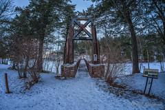 DSC_7867ext.jpg (GrandView Virtual, LLC - Bill Pohlmann) Tags: up upperpeninsula blackriverharbor greatlakes bessemermi winter suspensionbridge sunset ice breakwater lakesuperior michigan
