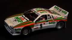 Lancia 037 Rally (duarterodrigues) Tags: miki biasion tiziano siviero monte carlo 1984 lancia 037 rally car slot scalextric fly model die cast ninco carro corridas race totip jolly club fiat pirelli scale miniatura