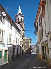 Torre do Relógio em Castelo Branco (Sofia Barão) Tags: castelo branco beira baixa portugal