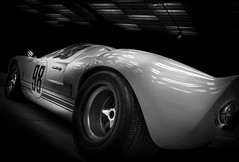 GT40 (Dave GRR) Tags: ford gt gt40 racing motorsport supercar speed toronto auto show 2018 retro classic automotive photography monochrome mono black white olympus